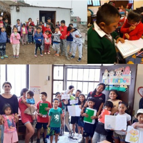 Project in education and training for women, young girls and their families